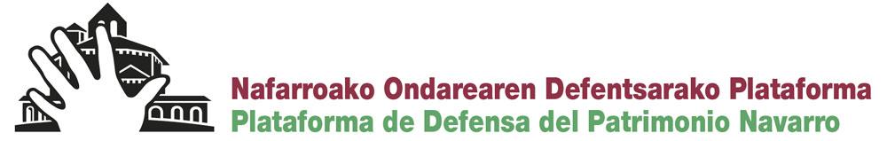 Plataforma de Defensa del Patrimonio navarro